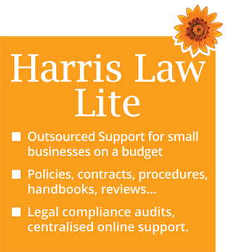 outsourced HR support - Harris Law Lite